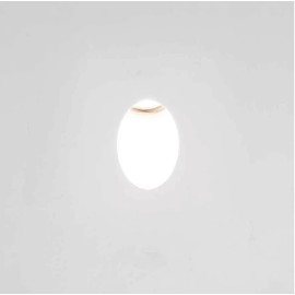 Leros Trimless LED Wall Light 1W 2700K in Matt White Dimmable IP20 Recesed Light Astro 1342002