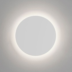 Eclipse Round 350 LED Plaster Wall Light 12.3W 3000K 432lm 350mm Diameter Paintable, Astro 1333003
