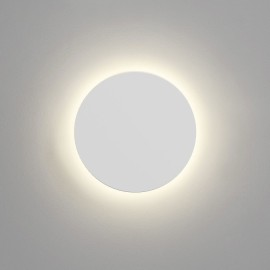 Eclipse Round 250 LED Plaster Wall Light 8.1W 2700K 452lm 250mm Diameter Paintable, Astro 1333005