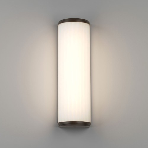 Monza 400 LED Bronze Bathroom Wall Light 7.3W 3000K 522lm IP44 rated with Diffuser, Astro 1194020