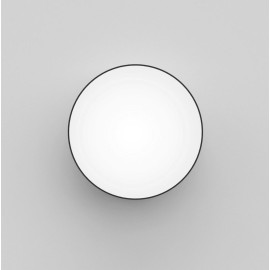 Kea 250 Round LED Light in Textured Black IP65 3000K 12.6W LED Bulkhead for Wall/Ceiling, Astro 1391004