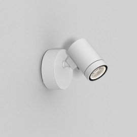 Bayville Single Wall LED Spotlight IP65 in Textured White using 8.1W LED 3000K Dimmable Astro 1401004