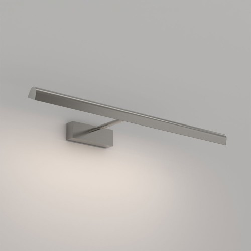 Renoir 680 Matt Nickel Adjustable LED Wall Picture Light 6.3W 367lm 2700K Dimmable, Astro 1371015