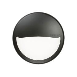 Black Eyelid Diffuser for BT14 LED Bulkhead, Knightsbridge BT14EB Black Eyelid Accessory Trim