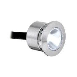 IP68 1W Ground Marker LED Light 3000K 80lm in Stainless Steel for Ground/Coastal Lighting