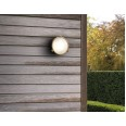 Malibu Coastal Round Wall/Ceiling Light in Antique Brass IP65 rated ES/E27, Astro 1387001