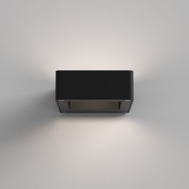 Napier LED Wall Light in Textured Black for Up-down Wall Exterior Lighting IP54 8.9W 3000K, Astro 1357004