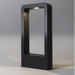 Napier LED 300 Bollard Light in Textured Black IP54 for Outdoor Lighting 8.8W 3000K 255lm, Astro 1357005