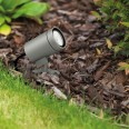 Bayville Spike LED Spotlight IP65 in Textured Grey using 8.1W LED 3000K 490lm Dimmable, Astro 1401008