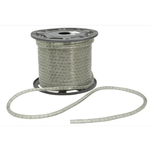 IP44 Clear Rope Light, Flexible Tube Light in Warm White for Outdoor Lighting, Price per Metre