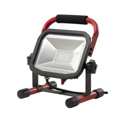 38W LED Work Light, IP65 rated 230V 1800lm 5000K Floor Standing LED Work Light with 2m cable