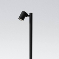 Bayville Spike Spot 900 LED Spotlight IP65 in Textured Black 8.1W LED 3000K 490lm Dimmable Astro 1401012