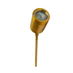 Cyclopse Adjustable Spike Spotlight in Copper, IP65 rated Garden Spot with Spike