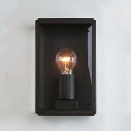Homefield 160 Exterior Wall Light in Matt Black with Clear Glass Diffuser IP44 E27 max. 60W Astro 1095001