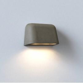Mast Twin Concrete Wall Light IP44 rated 2 x 6W max. GU10 LED, Surf Coastal Wall Light, Astro 1317013