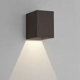Oslo 100 LED Wall Light in Textured Black IP65 3.8W 3000K for Exterior Lighting, Astro 1298004