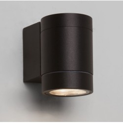Dartmouth Single LED Wall Spotlight in Textured Black 3000K 4.8W IP54 for Outdoor, Astro 1372003
