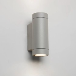 Dartmouth Twin LED Wall Up-down Light in Textured Grey 3000K 8.1W IP54 for Outdoor, Astro 1372008