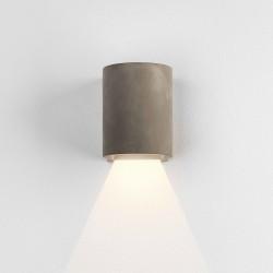 Dunbar 120 Matt Concrete LED Wall Light 3.9W 3000K IP65 Coastal for Wall Down Lighting, Astro 1384019