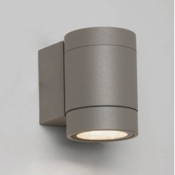 Dartmouth Single LED Wall Spotlight in Textured Grey 3000K 4.6W IP54 for Outdoor, Astro 1372007