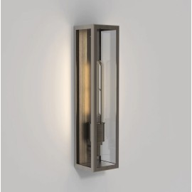 Harvard Wall Lamp in Bronze IP44 rated using 1 x E27 max. 4W LED Lamp Dimmable, Astro 1402009