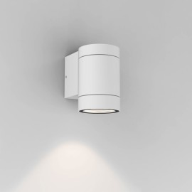 Dartmouth Single Wall Spotlight in Textured White IP54 using GU10 6W LED for Outdoors, Astro 1372009