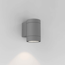Dartmouth Single Wall Spotlight in Textured Grey IP54 using GU10 6W LED for Outdoors, Astro 1372010