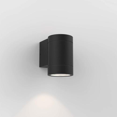 Dartmouth Single Outdoor Wall Lamp in Textured Black IP54 1 x GU10 max. 6W Astro 1372011