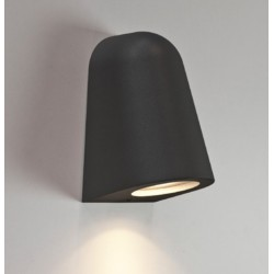 Mast Textured Black Surf Wall Light IP65 Rated GU10 max. 35W for Outdoor Wall Lighting, Astro 1317011