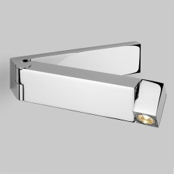 Tosca LED Swing Arm Wall Light in Polished Chrome 2.2W 2700K 61lm Switched IP20 rated Astro 1157003