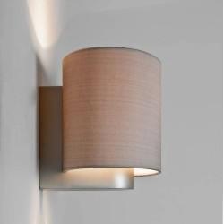 Napoli Matt Nickel Wall Lamp using 1 x 12W max. LED E27/ES (no shade) IP20 rated, Astro 1185001