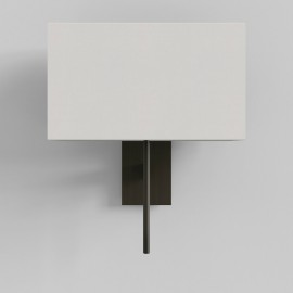 San Marino Solo Wall Lamp in Bronze using 1 x 3W max. G9 LED IP20 (shade not included), Astro 1076007