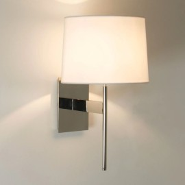 San Marino Solo Wall Lamp in Polished Chrome 3W max. G9 LED IP20, Shade not included, Astro 1076005