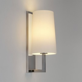 Riva 350 Polished Chrome Bathroom Wall Lamp (shade not included) IP44 rated E27/ES max. 60W, Astro 1214001