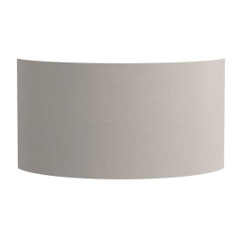 Semi Drum 320 Putty Shade with E27/ES Shade Ring for the Lima Wall Lights 170 x 320 x 118mm Astro 5026005