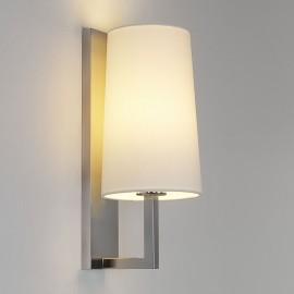 Riva 350 Matt Nickel Bathroom Wall Lamp (shade not included) IP44 rated E27/ES max. 60W, Astro 1214004