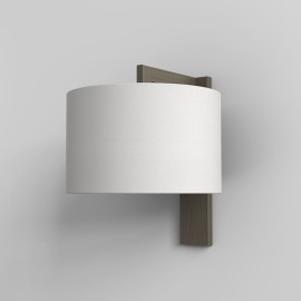 Ravello Wall Lamp in Bronze IP20 rated using 1 x 12W LED E27/ES (shade not included), Astro 1222040
