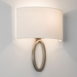 Lima Wall Lamp in Matt Nickel IP20 1 x E27/ES max. 60W (Shade not included) Astro 1318002