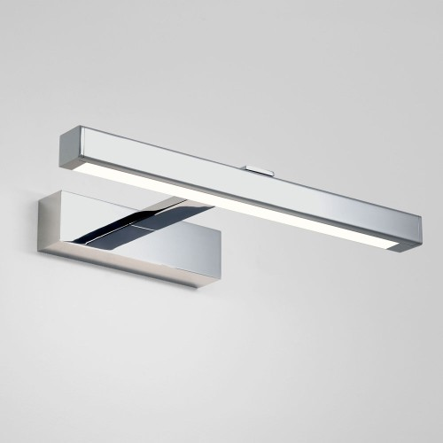 Kashima 350 LED Wall Light in Polished Chrome 4.5W 3000K Above Mirror IP44 Non-Dimmable, Astro 1174003