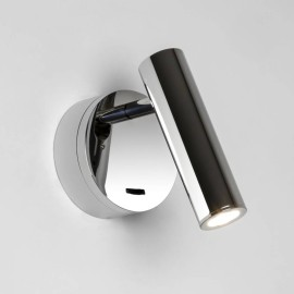 Enna Surface LED Switched Wall Light in Polished Chrome using Adjustable Head 4.5W 2700K LED, Astro 1058014