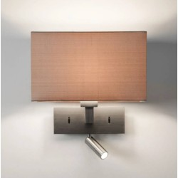 Park Lane Reader LED Wall Light in Matt Nickel IP20 LED E27/ES Switched (no shade) Astro 1080030