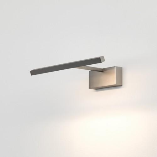 Mondrian 300 LED Picture Light in Matt Nickel using 5.1W 2700K 136lm LED Striplight, Astro Lighting 1374012
