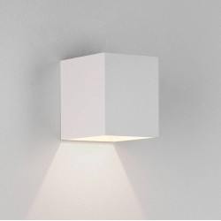 Kinzo 110 Textured White Wall LED Lamp for Down-lighting 5.9W 2700K IP20 rated Dimmable Astro 1398002
