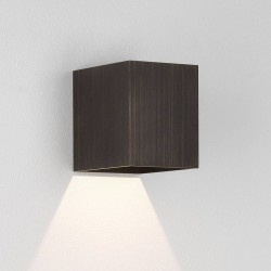 Kinzo 110 Bronze Wall LED Lamp for Down-lighting 5.9W 2700K IP20 rated Dimmable Astro 1398004