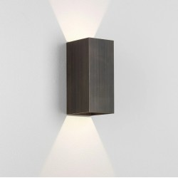 Kinzo 210 Bronze Wall LED Lamp for Up/Down Lighting 11.6W 2700K IP20 rated Dimmable Astro 1398008