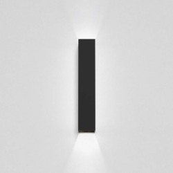 Kinzo 300 Textured Black Wall LED Lamp for Up/Down Lighting 11.7W 2700K IP20 rated Dimmable Astro 1398009