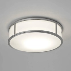 Mashiko 300 Round LED Bathroom Light in Polished Chrome IP44 15.8W 2700K 996lm for Wall / Ceiling Astro 1121041
