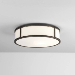 Mashiko 300 Round LED Bathroom Light in Bronze IP44 15.8W 2700K 996lm for Wall / Ceiling Astro 1121045