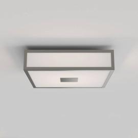 Mashiko 300 Square LED Bathroom Light in Matt Nickel for Ceiling Lighting IP44 15.9W 2700K LED, Astro 1121071
