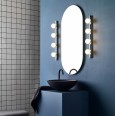 Cabaret 4 II Globe Bathroom Wall Light in Polished Chrome IP44 rated with Four Glass Globe Lamps G9 LED, Astro 1087009